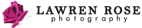 Lawren Rose Photography Retina Logo