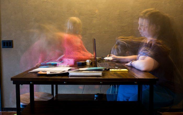 Self Portrait of a Dallas Documentary Photographer Lawren Rose Photography