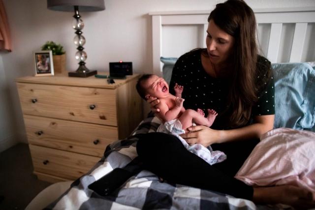 documentary newborn photography